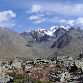 Langtauferer Tal und Weißseespitze (Bildmitte) - noch ohne Skizirkus (Foto: AVS)