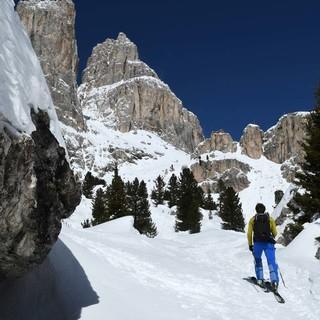 Im Val de Vaiolet mit Blick auf die Preusshütte. Foto: Stefan Herbke