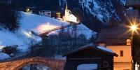 """Schlusspunkt der Tour de Soleil: Schmidigehischere, kurz Binn, Hauptort im gleichnamigen Tal, das 2011 als """"Regionaler Naturpark von nationaler Bedeutung"""" ausgezeichnet wurde. Foto: Powerpress.ch"""