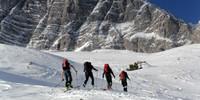Skitour auf die Hochalm - Foto: Fritz Rasp