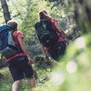 Naturfreundlich Sport im Freien treiben ist das Thema des Digitalforums 2020 vom Bundesamts für Umwelt und Naturschutz. Foto: DAV/Wolfgang Ehn