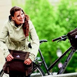 Citybike für die Freizeit. Foto: Vaude/Moritz Attenberger