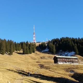 Grüntenhaus samt Gipfel. Foto: Jochen Brune