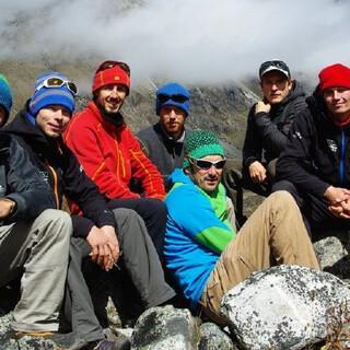 Auf der Abschlussexpedition 2012 in China. Foto: DAV