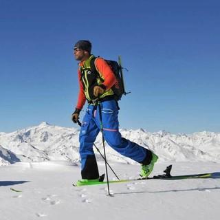 Stubaier Gletscher - Gleich hinter dem Stubaier Gletscherskigebiet beginnt wieder die Bergeinsamkeit. Foto: Stefan Herbke