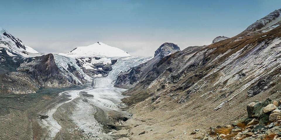 Insbesondere Gletscher benötigen unseren Schutz. Foto: DAV/Tobias Hipp