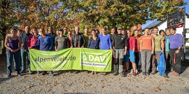 Das Forum Leistungsbergsteigen erhielt wieder viel Zulauf - sogar aus der Schweiz. Foto: Silvan Metz