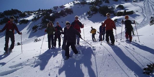 Schneeschuhtour zum Schönkahler&#x3B; Foto: Jubiarchiv