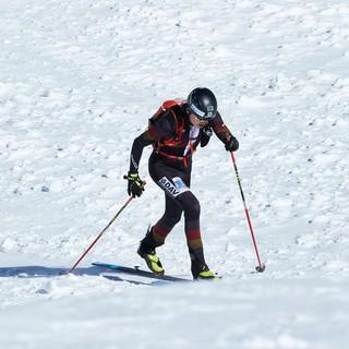 Stefan Knopf beim Individual-Rennen am Ätna. Foto: DAV/Willi Seebacher