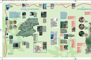 Banner Klettern & Naturschutz - - zur Geschichte des Klettern und zum naturverträglichen Klettern für Kletterhallen und Veranstaltungen (3 m breit, wetterfest)