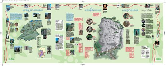 Banner Klettern & Naturschutz - Zur Geschichte des Klettern und zum naturverträglichen Klettern für Kletterhallen und Veranstaltungen (3 m breit, wetterfest)