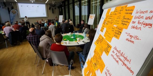 Großes Thema, lebhafter Austausch: Digitalisierung. Foto: Marco Kost