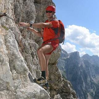 Klettersteig am Triglav, Foto: DAV/Andi Dick