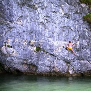 Deep Water Soloing,www.alpinfieber.net