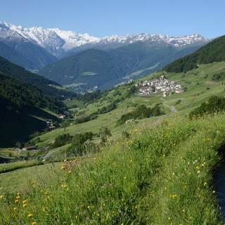 Bergsteigerdorf Matsch in Südtirol (Foto: Gianni Bodini)