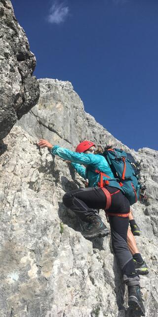 Die Watzmann-Ostwand ist mit 1800 Metern die längste der Ostalpen. Foto: privat