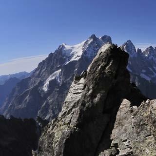 Pointe des Cinéastes - Angreifen! Griffig und (oft) fest ist der Granit an der Pointe des Cinéastes.