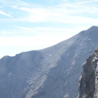 Vom Kempsenkopf zum Hohen Tenn - Schwindelfreiheit ist gefragt auf dem felsigen Grat vom Kempsenkopf zum Hohen Tenn.