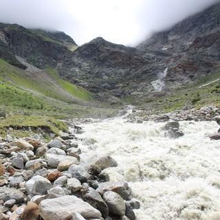 Ein reißender Fluss, ist nicht gleichzusetzen mit einer Quelle, Foto: DAV/Karl Dörnemann