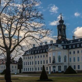 Die Hubertusburg, stolz und gleichzeitig harmonisch. Foto: DAV/Ingo Röger