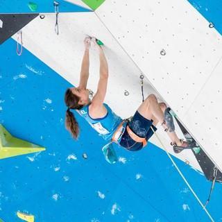 Anak Verhoeven ist Europameisterin im Lead, Foto: IFSC