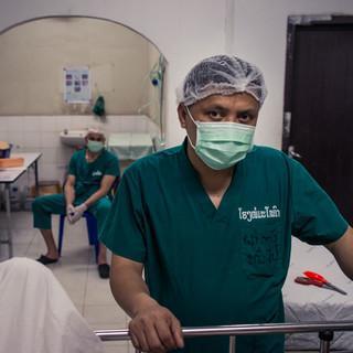 Im Provinzkrankenhaus von Thakhek, das von der Medizinhilfe unterstützt wird. Foto: Kilian Reil