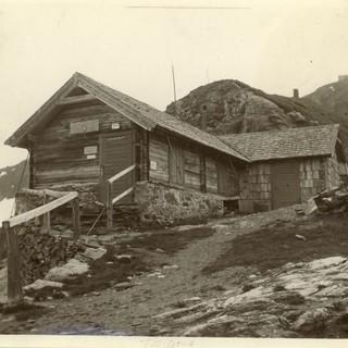 Hannoversche Hütte um 1890, Foto: DAV/Archiv