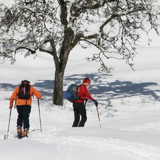 Skitour in den Chiemgauer Alpen. Foto: Manfred Scheuermann