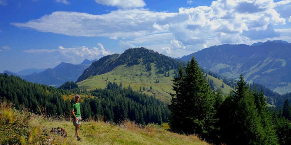 Gutes Wanderwetter ist nicht unbedingt gutes Flugwetter. Foto: Till Gottbrath