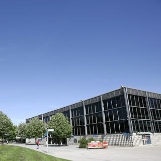 Das Olympia-Eissportzentrum im Münchener Olympiapark