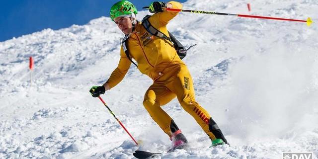 Philipp Schädler auf dem Weg zu Platz 3. Foto: Marco Kost