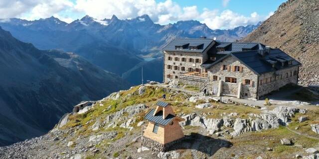 Die Marienkapelle und die Braunschweiger Hütte, Foto: Marcus Zöllkau