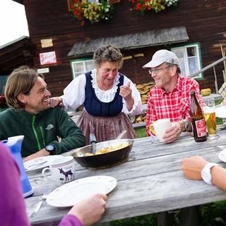 An der Goldberghütte, Foto: Franz Gerdl
