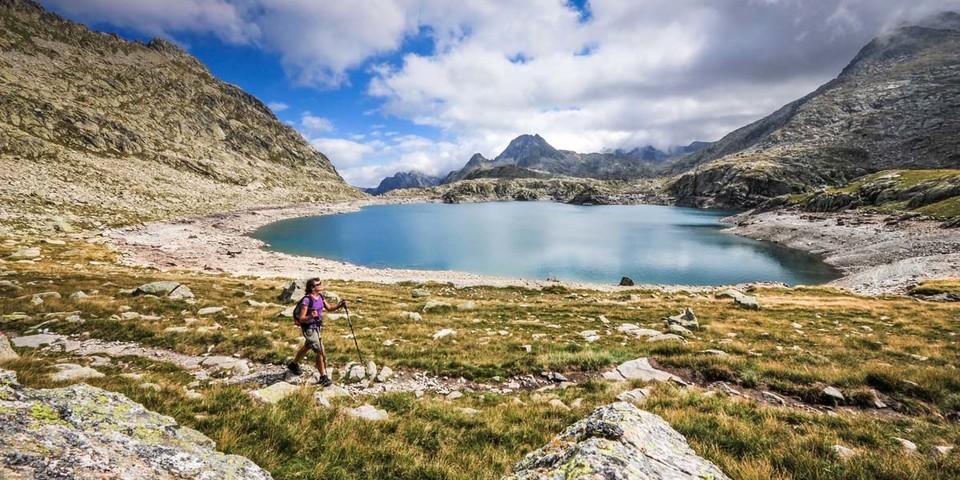 Der Lac de Rius ist der erste Bergsee, den man beim Aufstieg zur Berghütte Refugi dera Restanca erreicht. Foto: Annika Müller