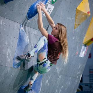 Bouldern auf der f.r.e.e. Foto: Daniel Kretschmer