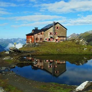 Die Sudetendeutsche Hütte - hier sind die Schlafplätze online buchbar! Photocredit: Werner Friedel