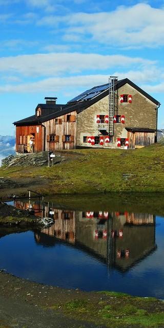 Die Sudetendeutsche Hütte, Foto: Werner Friedel