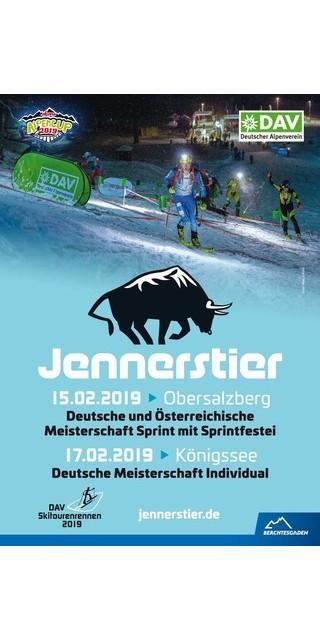 Jennerstier-Skitourenrennen-Plakat