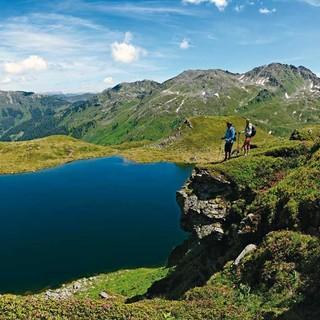 Zwischen Bamberger Hütte und Schafsiedel treffen Wanderer auf den Mittleren Wildalmsee, Foto: DAV