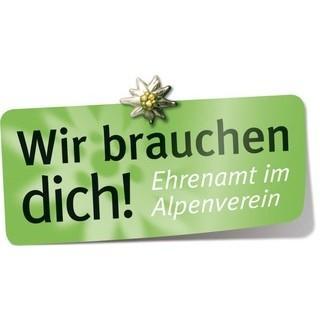 """Logo Aktion Ehrenamt """"Wir brauchen dich!"""""""