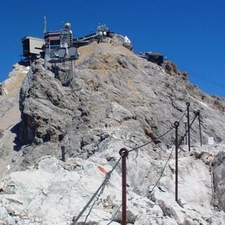 Südwestgrat - Die letzten Meter zum Gipfel.