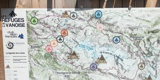 Tag 6: Der Vanoise-Nationalpark überzeugt mit atemberaubender Landschaft und einem guten Netz an Berghütten.