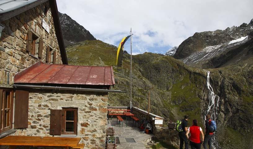Winnebachseehütte - Foto: Mark Zahel