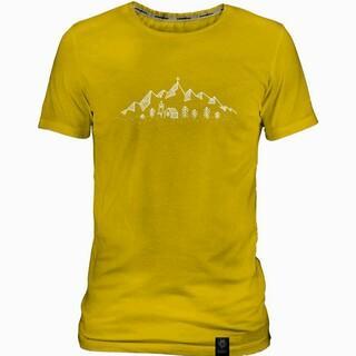 """DAV """"Bergpanorama"""" Herren Bio-Baumwoll-Shirt"""