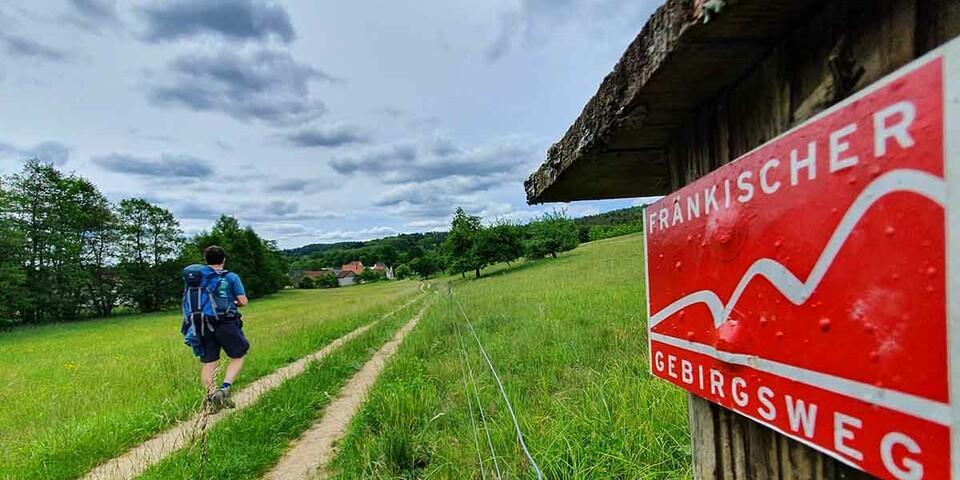 Die letzte Etappe führt durch die vom Tourismus weitgehend unentdeckte Hersbrucker Schweiz.  Foto: Christof Herrmann