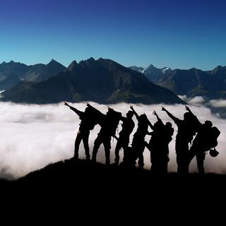 gemeinsames Bergglück, Bild: JDAV/Rob Utz