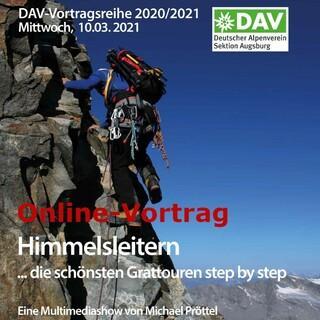 Bild Himmelsleitern Pröttel Vortrag Augsburg