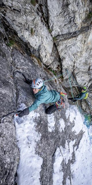 Die Bewerberinnen hatten sich in den verschiedenen alpinistischen Disziplinen zu beweisen, Foto: DAV/Silvan Metz
