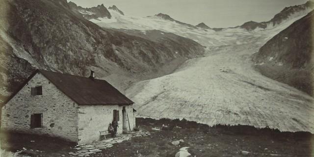 Auch die Hauptstadtsektion Berlin hat einst bescheiden angefangen. Die Berliner Hütte um 1880. Archiv des DAV, München