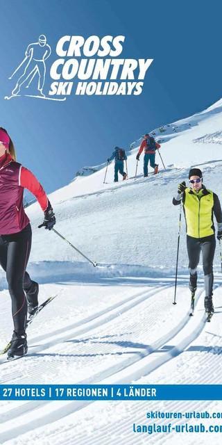 Cross Country Pool Service : Cross country ski holidays neuer katalog reise news